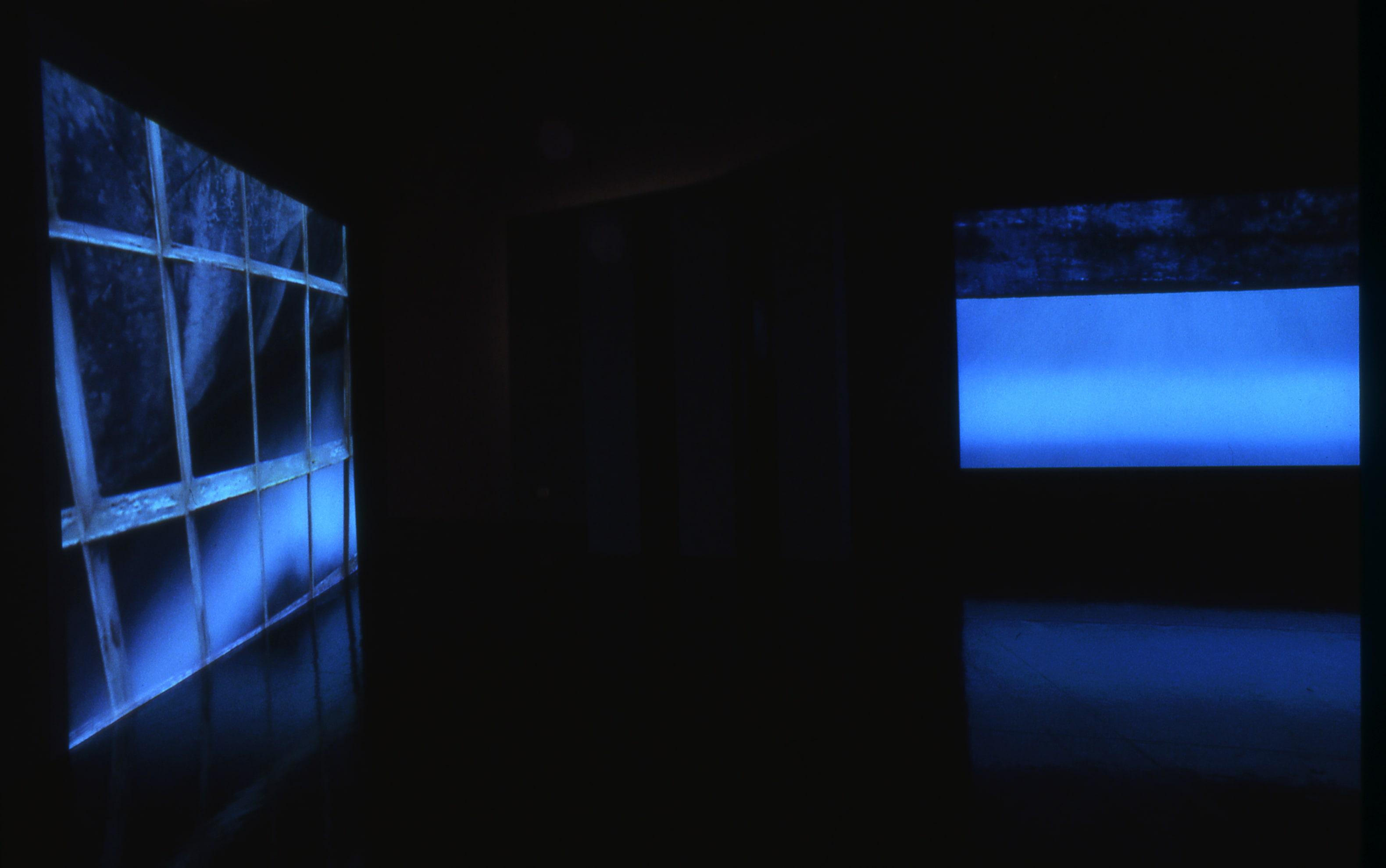 3. Montecatini Video Diptych Museum's Installation